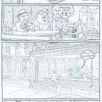 Bart #1, Nocne jastrzębie (Edward Hopper)