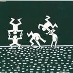 Sesame Street Breakdancers, komplet prac (Keith Haring)