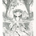 Rusałka (ilustracja)