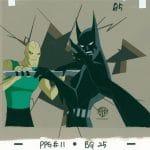 Batman Beyond, #11 BG25-A5 (folia animacyjna + malowane tło)