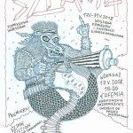 Szlam 4, projekt plakatu