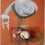 Francis Bacon: Three Studies at the Base of a Crucifixion (1/1)