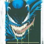 Venom: Finale #2, splash tytułowy (dwa kolory)
