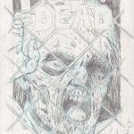 Walking Dead #1 – szkic do okładki typu wariant
