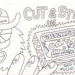 Cut & Stab, okładka + komiks z edycji limitowanej (1/26)