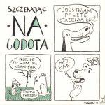 Szczekając na Godota, numer 6 (Henryk Stażewski)