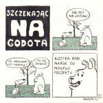Szczekając na Godota, numer 7 (Katarzyna Kozyra)
