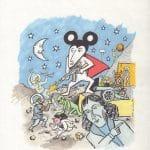 Ratman. O obrotach dział niebieskich, okładka (kolor)