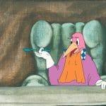 Marceli Szpak Dziwi się światu, 19 (folia animacyjna i malowane tło)